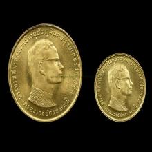 ร.๙ ครองราช๒๕ปีเนื้อทองคำ