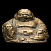 รูปหล่อพระสังขจายน์ หลวงปู่สุข วัดโพธิ์ทรายทอง