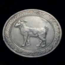 เหรียญนามปีรุ่นแรกเนื้อเงินปีแพะ