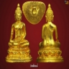พระชัยวัฒน์สมเด็จญานสังวร2533กะหลั่ยทอง(ยกชุด10องค์)