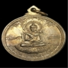 เหรียญเลื่อนสมณศักดิ์ พระครูแฉล้ม วัดโพธิ์บางคล้า ฉะเชิงเทรา