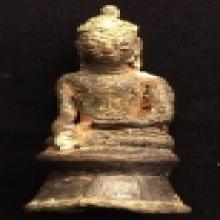 พระสนิมแดงศิลปะพม่า Shan