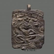 พระเหวัชระ เนื้อนสำริด ลพบุรี (ขนาดห้อยคอ)