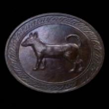 เหรียญนักษัตรหลักเมืองรุ่นแรก ปีจอ