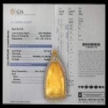 ตลับทองฝังเพชร หลวงปู่บุญ วัดกลางบางแก้ว เพชรเกรด GIA หนึ่งเ