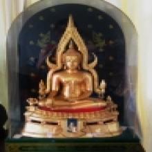 พระพุทธชินราช มาลาเบี่ยง 9.9 นิ้ว ครอบเดิม