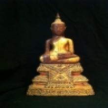 พระบูชาอยุธยา ไม้จันทร์ N2013-082