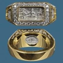 แหวนหน้าพระพุทธ 2532 หลวงปู่ดู่  ของพี่จ็อป แหวนน้ำท่วม