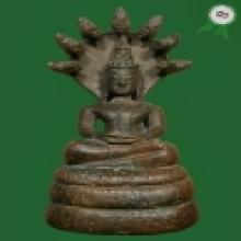 พระพุทธรูป ศิลปะเชียงรุ้ง ปางนาคปรก ติดที่ 3 งานพันทิพย์