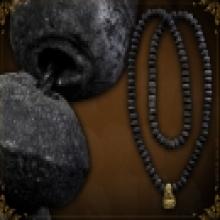สร้อยประคำ อ.ชุม ไชยคีรี พร้อมพระ อ.คง ปิดทอง ปี 2506 แชมป์
