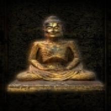 พระพุทธรูปสมัยรัตนโกสินทร์ปางบำเพ็ญทุกรกิริยา สร้างปี พ.ศ.24