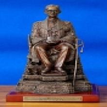 พระบรมรูปนั่งบัลลังก์ ปี 2539 สร้างโดยกระทรวงมหาดไทย