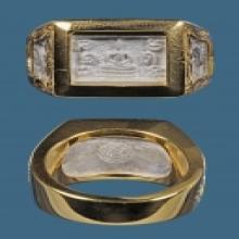แหวนเลี่ยมทองอย่างเดียว หลวงปู่ดู่ วัดสะแก