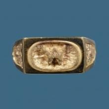 แหวนพ.พาน เลี่ยมทอง หลวงปู่เย็น ชัยนาท