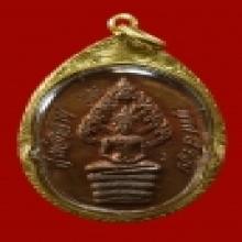 เหรียญพระนาคปรก ไตรมาส หลวงปู่ทิม วัดระหารไร่ สองโค็ต