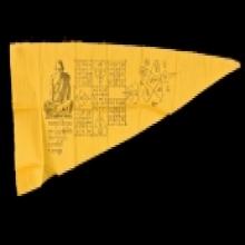 ผ้ายันต์ชายธง หลวงปู่บุญ วัดกลางบางแก้ว