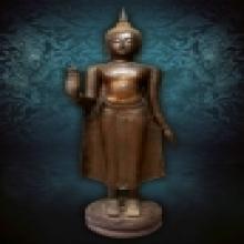 พระพุทธรูปศิลปะอยุธยา สกุลช่างกำแพงเพชร สูง 167 ซ.ม. สมบรูณ์