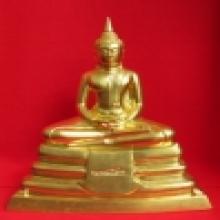 พระบูชาลพ.โสธร ปี 2509 ออกยัอน ปิดทองคำ 9 นิ้ว