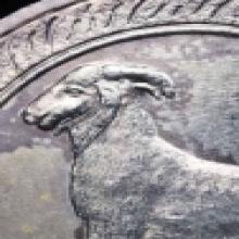 เหรียญนามปีรุ่นแรก ปีมะแม เนื้อเงิน