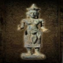 เทวรูปพระแม่อุมา สมัยลพบุรี อายุการสร้างพันกว่าปี เนื้อสัมฤท