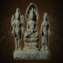 พระพุทธรูป สมัยลพบุรี หน้าตัก 3 นิ้ว สมบรูณ์ไซน์เล็กแบบนี้ที