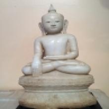 พระพุทธรูปหินอ่อน ศิลปะพม่า