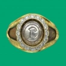 แหวน...นะใหญ่(หัวเงิน)หลวงพ่อทองศุขวัดโตนดหลวง