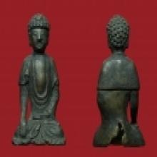 พระยูไล ศิลปะแบบจีน ขนาดเล็ก เนื้อสำริด ขนาด 1 นิ้ว