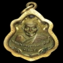 เหรียญปาดตาล เนื้อกระไหล่ทอง หลวงพ่อคง วัดบางกระพร้อม