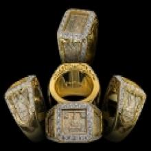 แหวนหน้าพระพุทธ 2525 เนื้อทองเค หลักสิบวงในโลก เลี่ยมทองฝังเ