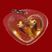 สาริกาคู่แกะจากกาฝากรักซ้อน ลพเอิบ วัดซุ้มกระต่าย