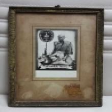 รูปถ่าย หลวงพ่อโบ้ย วัดมะนาว จ.สุพรรณบุรี
