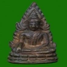 ชินราชอินโดจีน2485 พิมพ์ต้อ บัวขีด  น้ำทองกระจาย