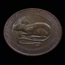 เหรียญนักษัตร์นามปี รุ่นแรก เนื้อนวโลหะ