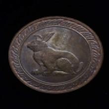 เหรียญ นักษัตร นามปีเนื้อนวะโลหะ