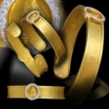 กำไลทองคำ หลวงพ่อชำนาญ วัดบางกุฎีทอง ปทุมธานี