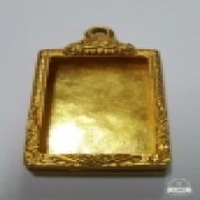 ตลับทองคำใส่เหรียญหลวงปู่เผือก
