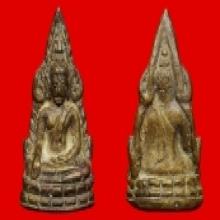 พระพุทธชินราช รุ่นอินโดจีน ปี 2485 พิมพ์สังฆาฎิสั้น หน้าเสาร