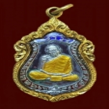 เหรียญเสมา นวะหน้าเงินลงยาสามสี ลป.ทิม สวยแชมป์