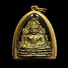พระพุทธชินราชอินโดจีน พิมพ์ต้อบัวเล็บช้าง ปี 2485
