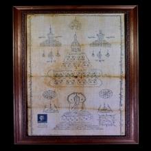 ผ้ายันต์พระพุทธ ปี 2514 หลวงปู่โต๊ะ