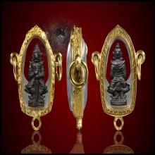 ท้าวเวสสุวรรณ หลวงปู่หมุน รุ่นมหาจักรพรรตราธิราช ปี2545