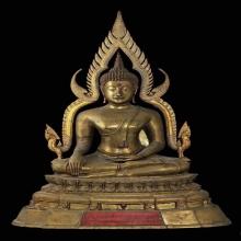 พระพุทธชินราช วัดวังทอง ปี ๒๕๑๔ 9 นิ้ว ผิวขัด