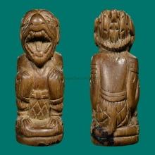 ๙ หนุมานหน้าโขนหลวงพ่อสุ่น วัดศาลากุน ๙