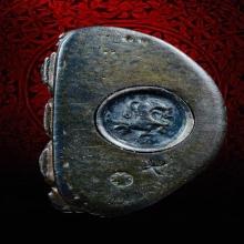พระกริ่งธรรมราชา (กริ่งพระราชบิดา) เนื้อนวะ ปี 2514