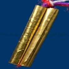 ตะกรุดนางแย้มทองคำ หลวงพี่เลี้ยง วัดจอมเกษิอยุธยา