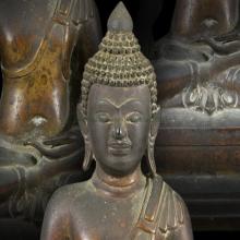 100#หายาก พระพุทธรูป ยุคสมัยธนบุรี หน้าตัก 4นิ้ว