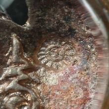 ครุฑ อ.วรา รุ่นล้างอาถรรพ์ รุ่นแรก วัดโพธิ์ทอง เนื้อเงินลงยา