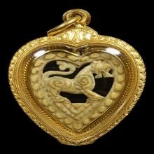 """๙ """"องค์ดารา+เลี่ยมทองเก่า"""" สิงห์กรอบหัวใจลพ.เดิม วัดหนองโพ ๙"""