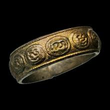 แหวนมงคลเก้า ทองแดงกะหลั่ยทอง วัดแหลมฟ้าผ่า ปี95